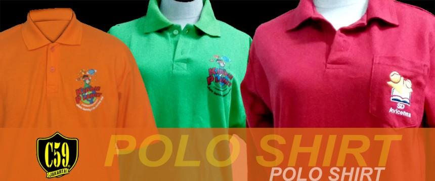 Katalog Kaos Polo Shirt Custom Made C59 Jakarta